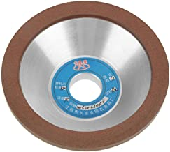 120 Grit 100mm Diamond Grinding Wheel Cup Sanding Disc Grinder Accessory Disc Polishing Wheel Grinding for Concrete Marble Granite Stone Cement and Ceramics Diamond Cup Wheel for Angle Grind