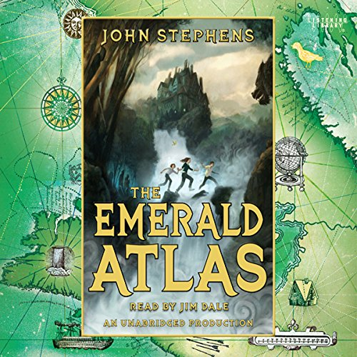 The Emerald Atlas audiobook cover art
