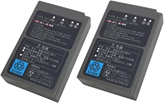 OLYMPUS BLS-5 BLS-50 互換 バッテリー【2個セット】【ロワジャパン】【日本市場向け】【実容量高】【純正充電器対応】