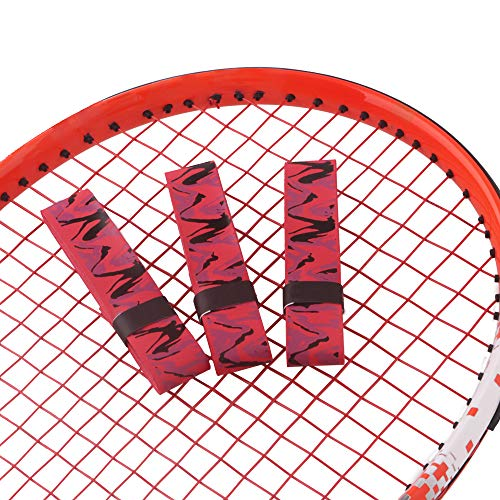 Racket Grip Tape for Tennis Kids Youth, Handle Protection for Racquetball Racquet, Long: 43in Wide: 1in Thick: 0.8mm Red