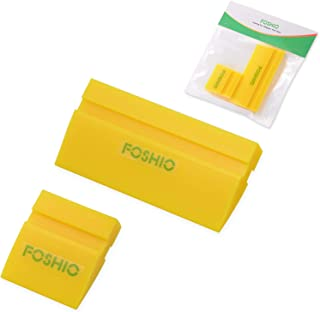 FOSHIO Mini Squeegee Window Film Tools,Rubber Squeegee Water Blade Decal Wrap Applicator Car Home Tint