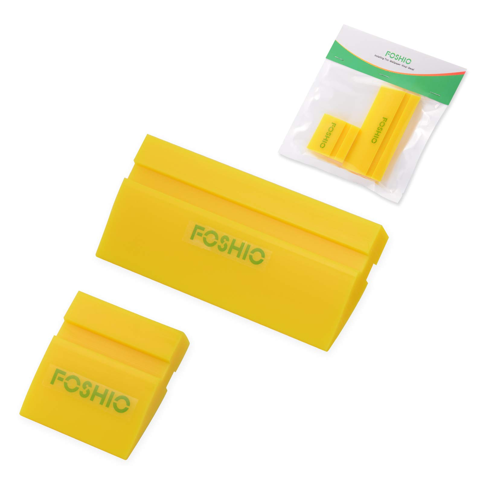 Turbo Squeegee Window Film Tools Tube Rubber Scraper Silicone Water Blade Decal Wrap Applicator Car Home Tint Flexible Ehdis 5.5inch 14cm
