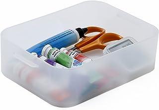 Sundis 4355004 Boîte de Rangement, Plastique, Transparent, 16,7 x 11,5 x 4,7 cm
