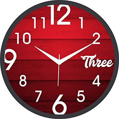 revive creation Designer Wall Clock for Home/Living Room/Bedroom/Kitchen
