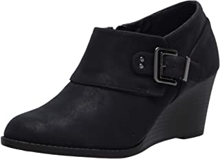 Easy Street Women's Ankle Boot, Navy, 8W US
