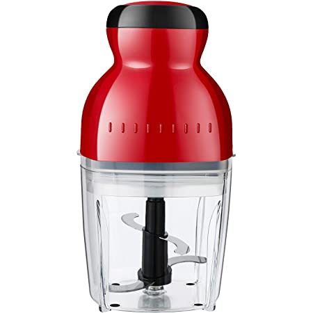 Electric Food Processor Chopper for Vegetables, Meat, Fruits, Nuts,Kitchen Grinder With Sharp Blades, 2-Cup Capacity