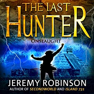 The Last Hunter - Onslaught audiobook cover art