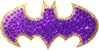 DC Comics CH BG LOGO001MD Medium Car Window Decal Sticker (Bling Logo Crystal Studded Batgirl)