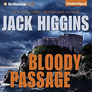 Bloody Passage audiobook cover art