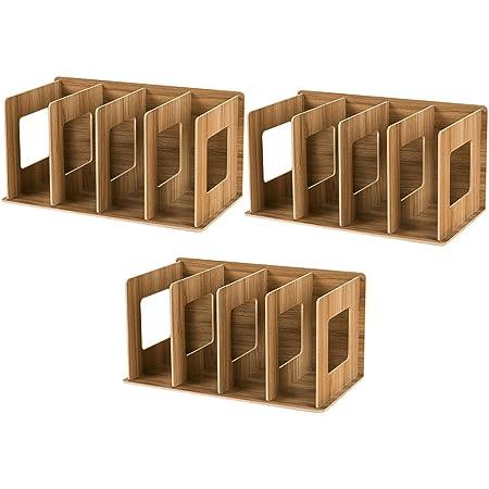 Anna Shop 3er Pack Faltbares Holz Cd Rack Dvd Rack Elektronik