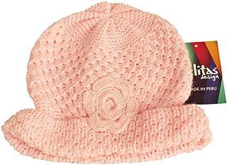 帽子キャップFlowerアルパカウールブレンドHandペルー製