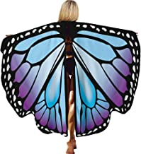 RONSHIN Kids Girls Cloak Lovelt Butterfly Sweet Shawl Party Festival Costume HD-033 Halloween Decoration