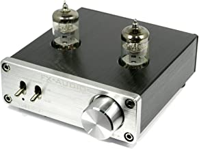 FX-AUDIO- 【シルバー】真空管プリアンプ(ラインアンプ)NFJ オリジナルモデル TUBE-01J