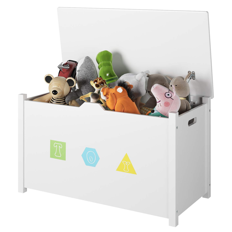 Homfa Flip Top Children Organizer Playroom