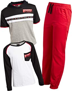Enyce Boys' 3-Piece Fashion Pant Set