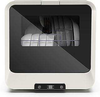 CuiCui 220V Lavavajillas Automático Doméstico Agua Inteligente Máquina De Limpieza De Frutas Completamente Automática Desinfección Blanca De Lavavajillas