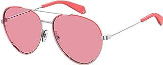 Polaroid Sunglassess for Women, Pink Lens, PLD6055/S,Aviator Shape