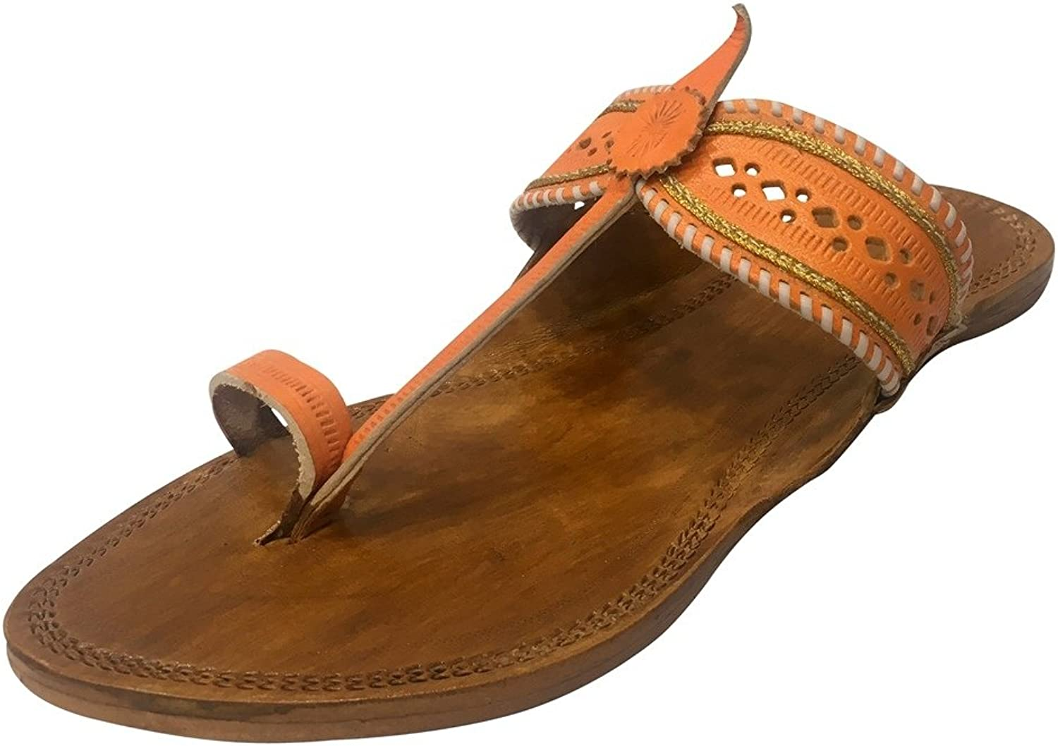 Step n Style Womens Sandals Kolhapuri Slippers Kolhapuri Chappal Kolhapuri Sandals Indian Leather Chappals