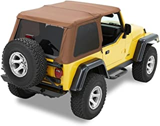 Bestop 56820-37 Spice Trektop NX Complete Frameless Replacement Soft Top with Sunrider Sunroof Feature for 1997-2006 Wrangler (except Unlimited)