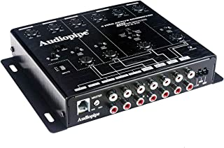 4 Way Active Crossover 15V Audio Signal Line Driver Bass Control Audiopipe XV-4-V15