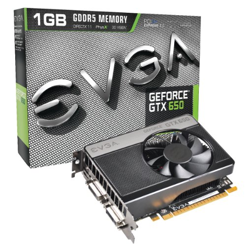 EVGA 01G-P4-2650-KR GeForce GTX 650 1GB GDDR5 scheda video