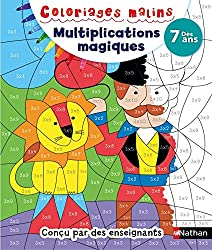 Coloriages malins Multiplications magiques