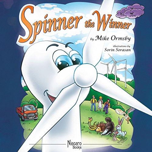 Spinner the Winner audiobook cover art