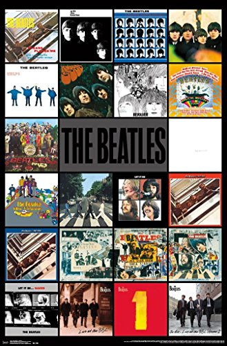 The Beatles Albums Poster (24x36) (Unframed)