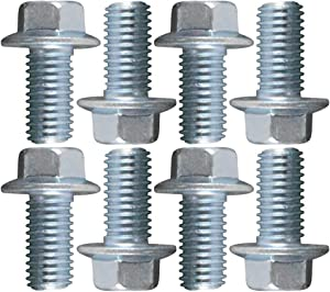 ICT Billet USA Made BOLT KIT ONLY - LS Engine Mount to block Hex Flange Bolts LSX LS1 LM7 LR4 LQ4 LS6 L59 LQ9 LM4 L33 LS2 LH6 L92 L76 LC9 LFA LH8 LMG LS3 551427
