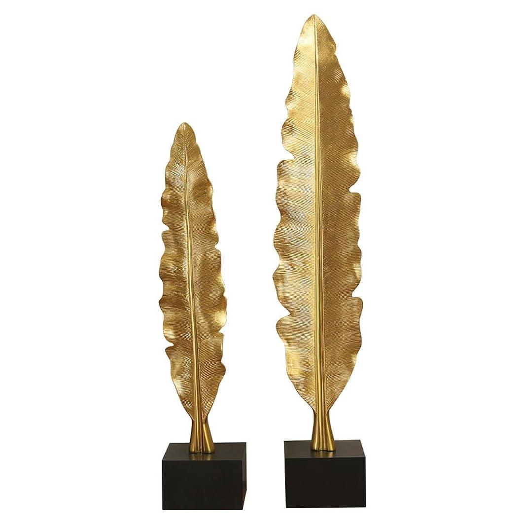 相互接続油心からGWM ヨーロッパの金の葉の大きな装飾品ホームテレビキャビネットのディスプレイモデルルームの装飾