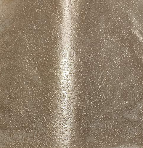 1kg (ca. 1Liter) Effektfarbe Metallic, Metallic Farbe, Wandfarbe, Wand-Farbe, Glitzer Wandfarbe, Farbe mit Glitzer, Glitzereffekt, Glitzer Effekt, Glitter (Champagner Metallic)