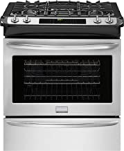 """Frigidaire Gallery Series FGGS3065PF 30"""" Slide-In Gas Range with 4 Sealed Burners in Stainless Steel"""