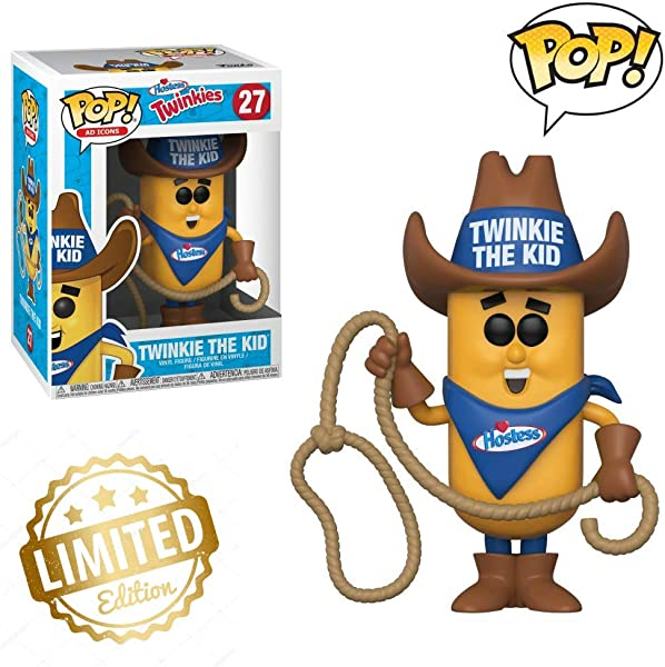 Pop Ad Icons Hostess Twinkie The Kid Style May Vary Collectible Figure Multicolor Limited Edition