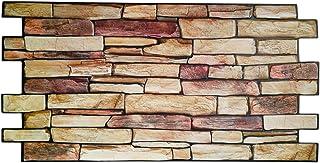 Revestimiento de pared panel de pared de PVC imitación