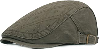 Ambysun Men's Flat Cap Classic Duckbill Beret Hats Irish Hunting Cap