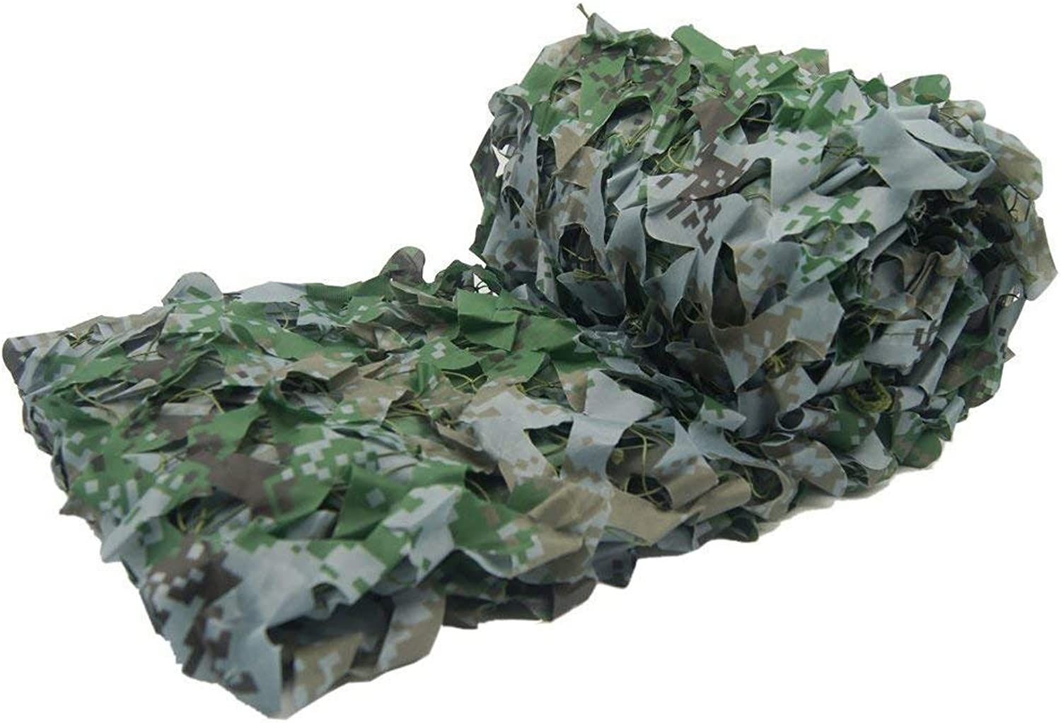ATR Camouflage net for car, Dense and Robust, add reinforcing mesh Can be Used as a car Cover. Awning and Fairing Multiple, Woodland Digital Camo color