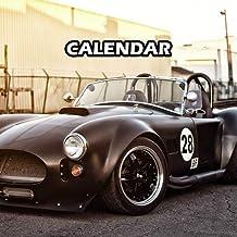 Ac Cobra Calendar 2021 Weekly Planner Gift: Journal Notebook 10