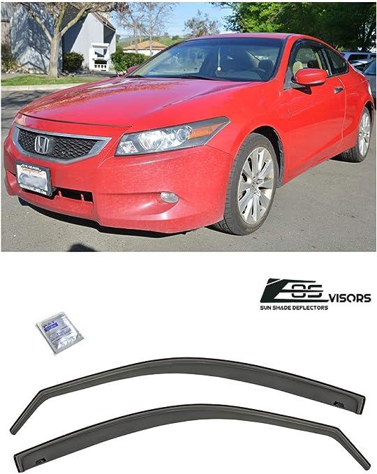 research.unir.net Wind deflectors for Honda Accord 8 Facelift 2011 ...