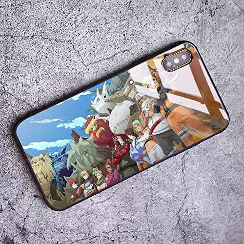 Anime Naruto - Carcasa Transparente para iPhone 6, 6S, 7, 8 Plus, X XS MAX 11 Pro MAX Se 2020, diseño de Moda-Photo_Color_12_Mini