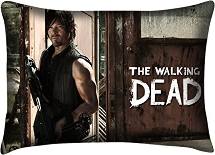 Onelee one side TM - Custom The Walking Dead Daryl Dixon Pillowcase Standard Size 20*30 inches