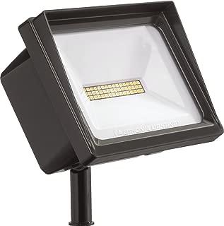 Lithonia Lighting QTE LED P1 50K 120 THK DDB M6 Flood Light, 4,000 lumens   24 watts, Dark Bronze