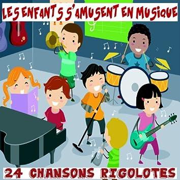 Les enfants s'amusent en musique - 24 chansons rigolotes