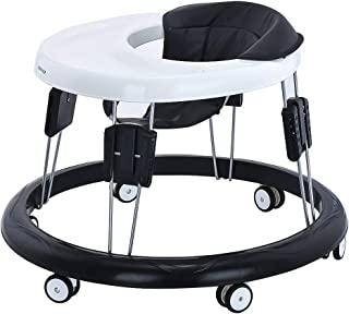 comprar comparacion Andador Bebe, Silla de Bebe Plegable y Ajustable para bebés de 6 a 18 meses (Negro)