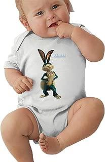 Wokeyia Ice Age5 Comfortable Romper Short Sleeve Jumpsuits for Baby Boy Onesies Black
