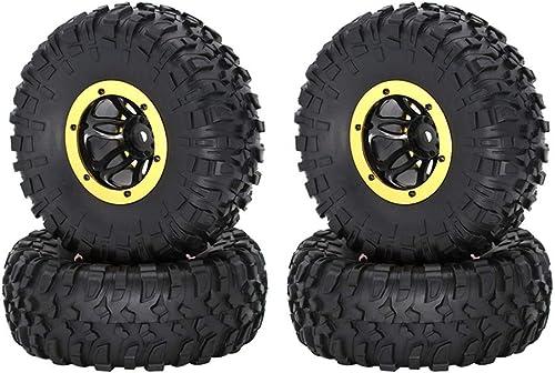 costo real Amosfun Rastreadores RC Neumáticos Neumáticos Neumáticos Neumáticos Neumáticos Neumáticos para Control Remoto Coche 1 10 Rastreado 4WD 2.2 Pulgadas 4 Unids (azul)  gran descuento