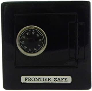 Frontier Safe - Metal Bank with Combination Lock - Black