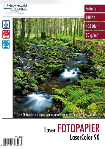 "Schwarzwald Mühle Laser Fotopapier:\""LaserColor 90\"" 90 g/m² A4 400 Blatt (Druckpapier)"