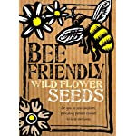 Bee-Friendly Wild Flower Seeds - Beautiful Native Wild Flowers in Many Colours, Great Gardener Gift. Over 1000 Seeds Per Packet, RHS Perfect for Pollinators Certified Mix.