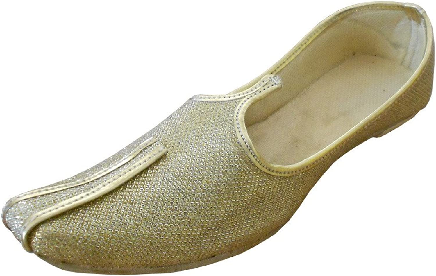 Kalra Creations Men's Traditional Indian Rexin Party shoes