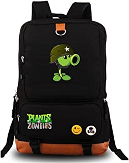 Cute Plants Zombie Hot Game Bookbag Backpack School Bag